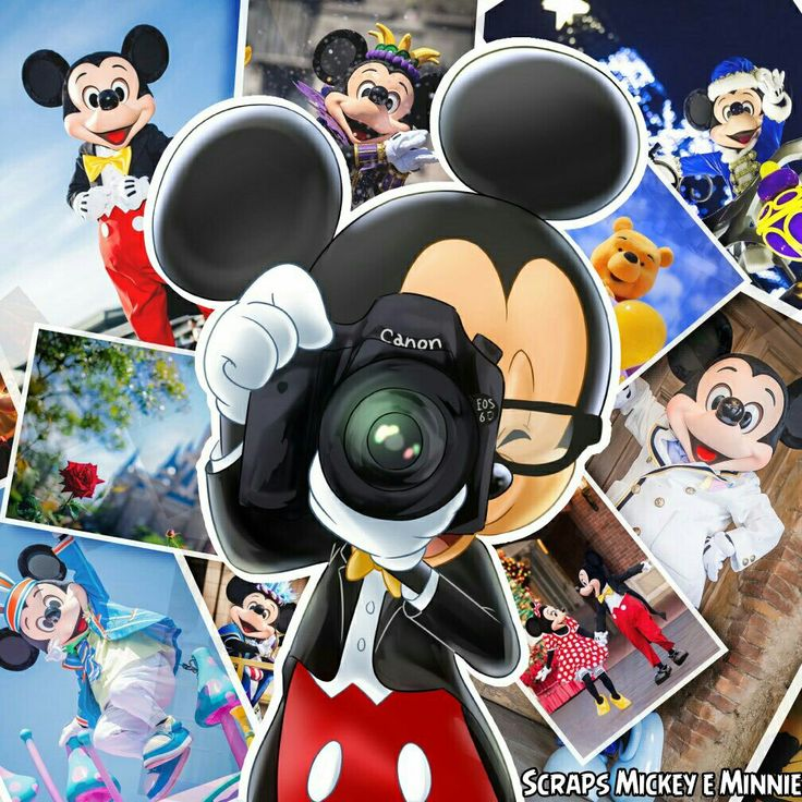 The many photos of Mickey especially he himself getting some pictures as well
