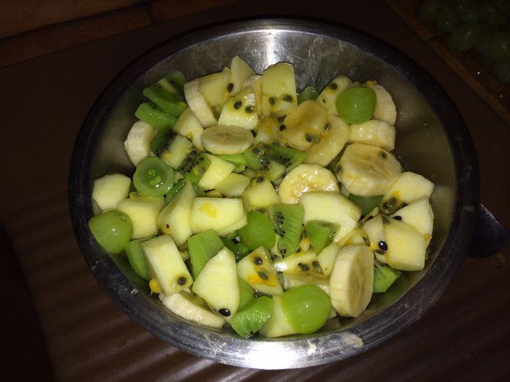 #Fruitsalade..
