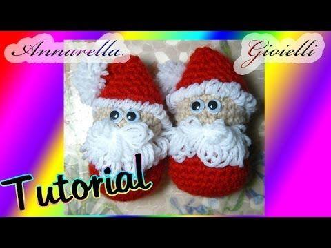 ▶ Tutorial amigurumi | Babbo Natale uncinetto | How to crochet Santa Claus (SUB ENG) - YouTube