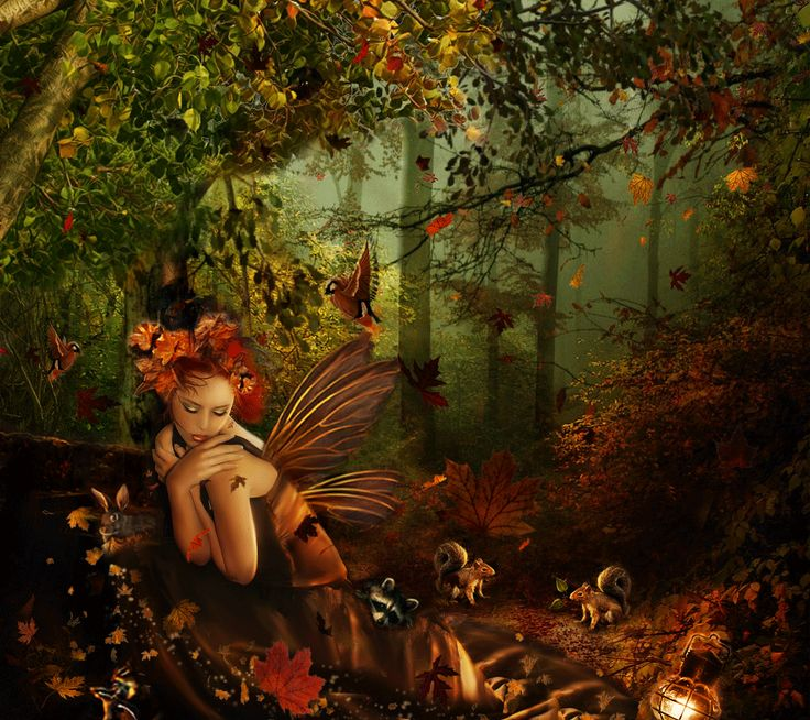 autumn fairy tale wallpaper - photo #4