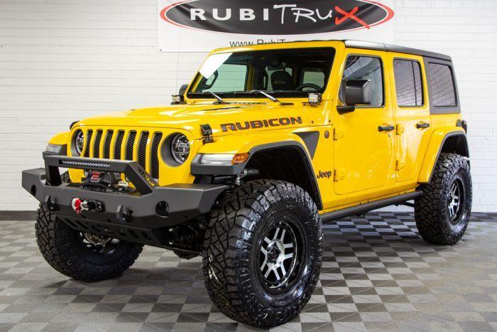 2019 Jeep Wrangler Rubicon Unlimited Jl Bright White Jeep