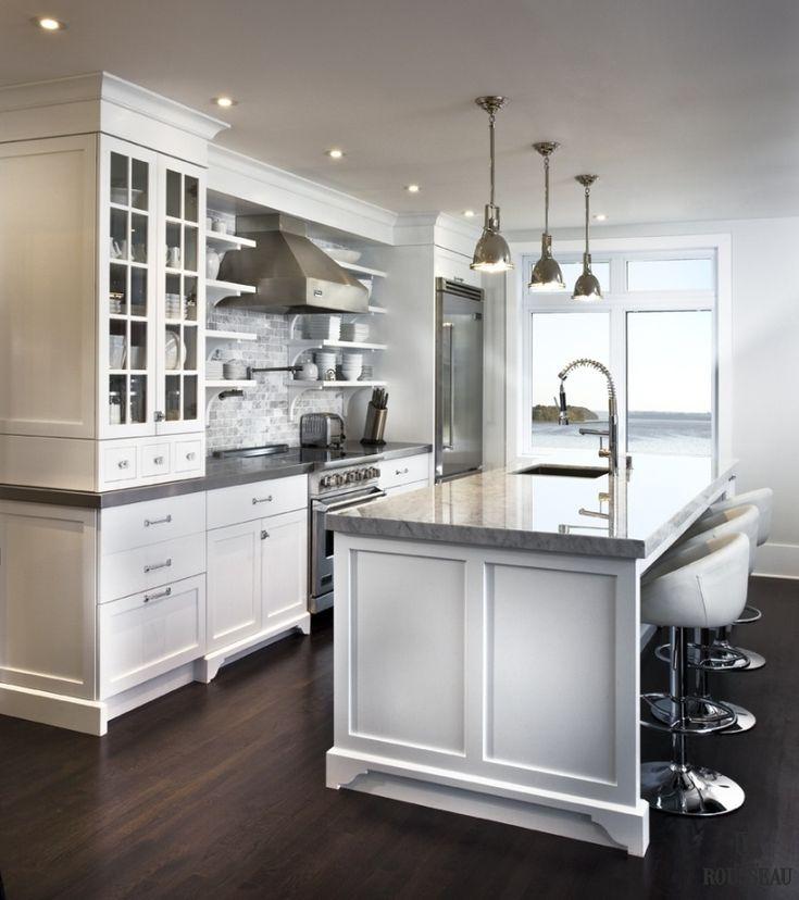 Armoires de cuisine - Québec - Salles de bain, meubles intégrés | André Rousseau Construction