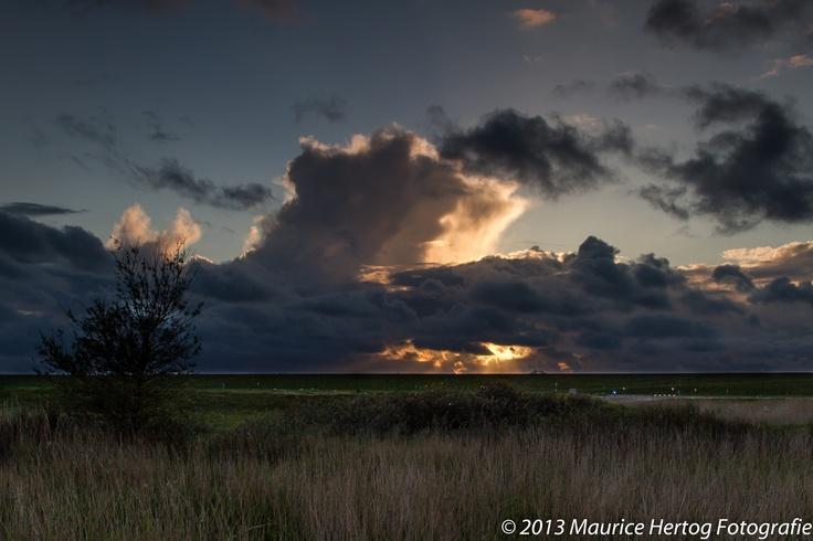 Wolkenspel | Cloud's view, NP Lauwersmeer (NL)  Photo © Maurice Hertog Fotografie