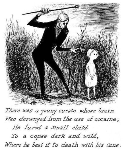 edward gorey   Horrible stuff