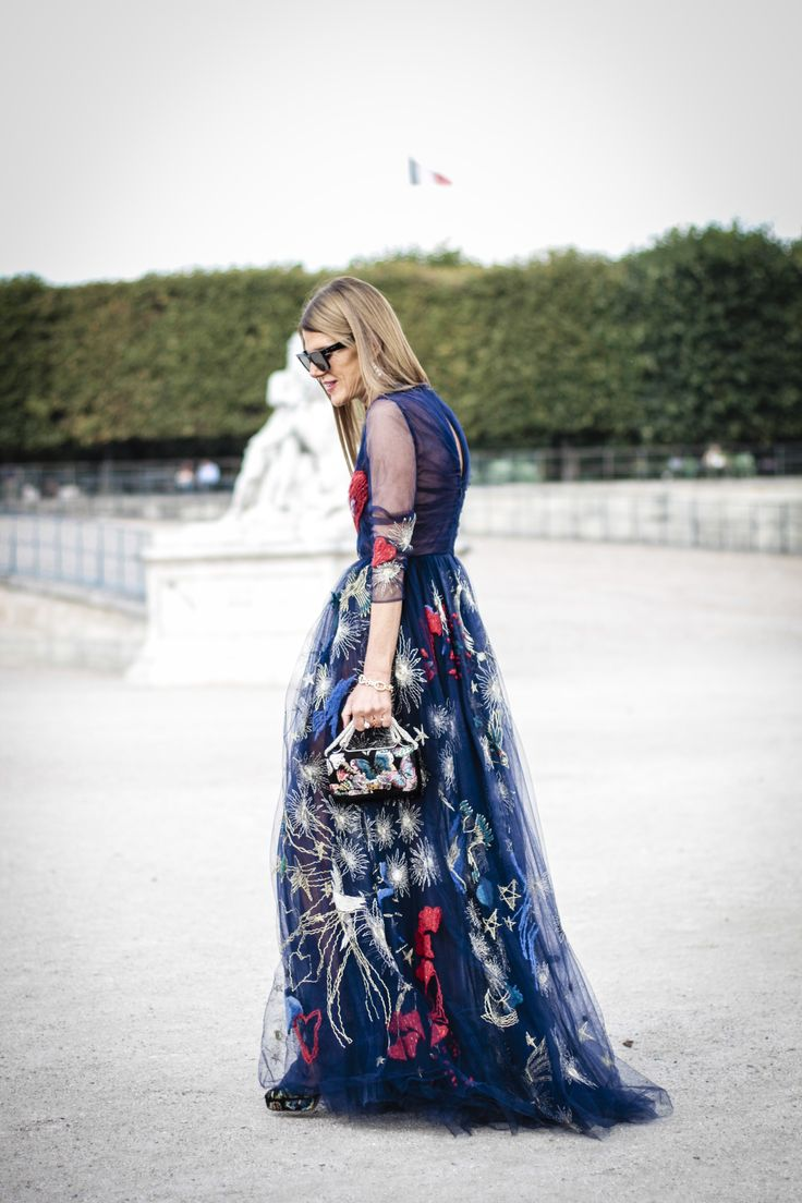 Anna Dello Russo at Valentino - Paris Fashion Week SS15 by Amandine Dowle Photography