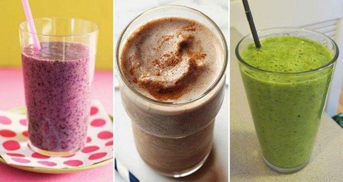 10 egyszerű és ízletes smoothie recept a nap és az anyagcsere beindítására
