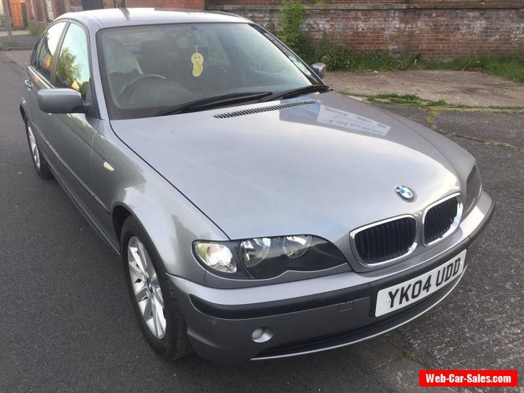 BMW 2004 316I E46 3 SERIES 4 DOOR SALOON METALIC SILVER NO RESERVE 3 DAY SALE  #bmw #316i #forsale #unitedkingdom