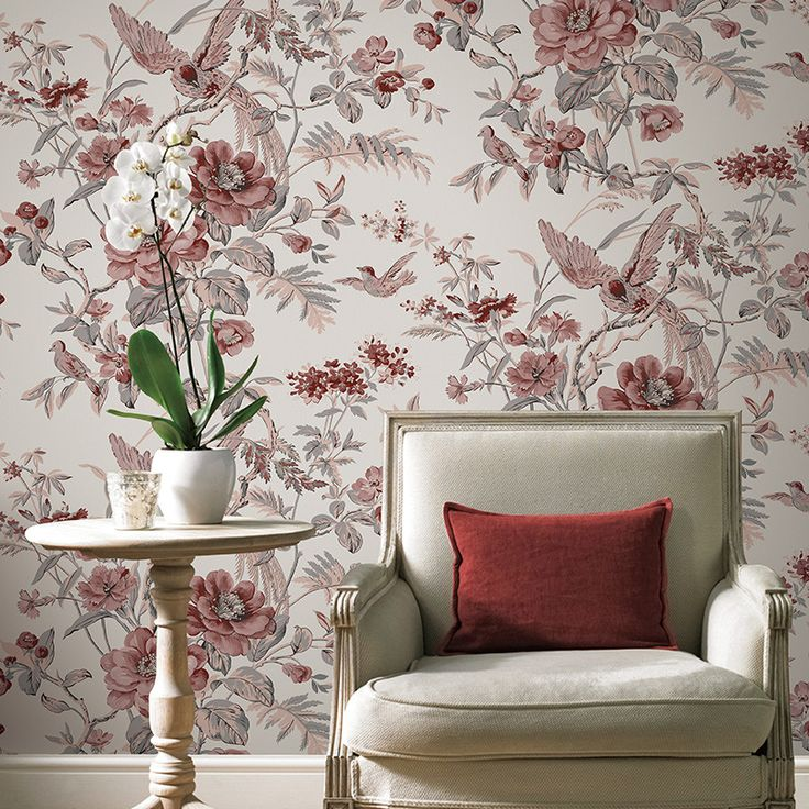 Cheap floral wallpaper for walls, Buy Quality birds and