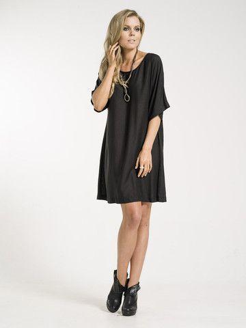 Viola black dress by Kaja Clothing