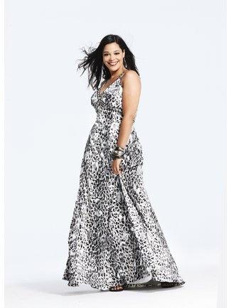 zebra style dress outlet