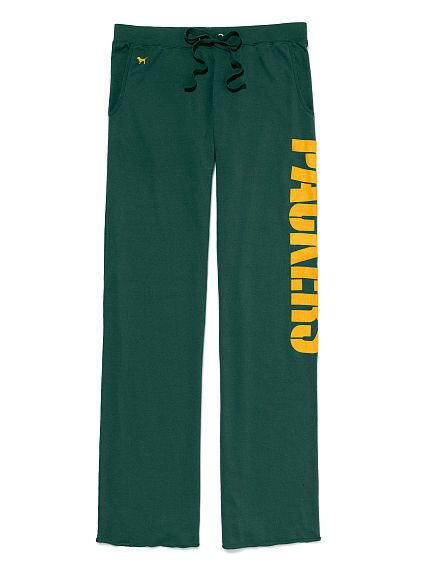 Green Bay Packers Boyfriend Pant- YES!