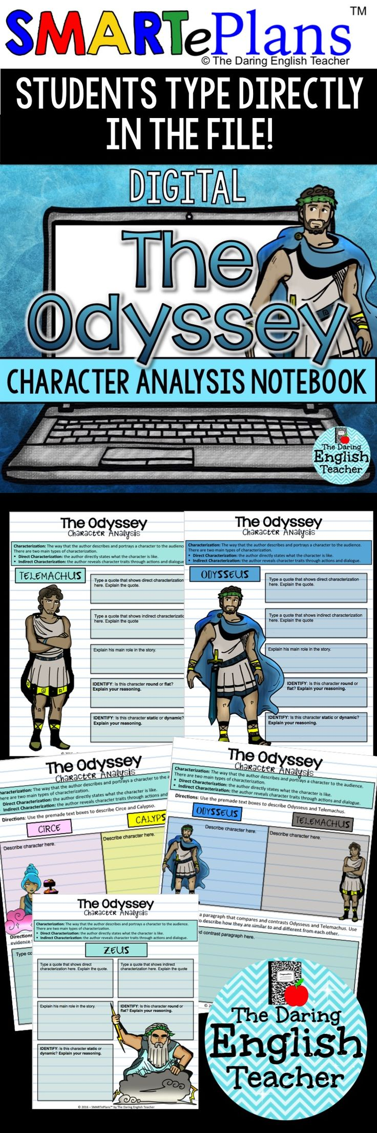 an analysis of the character of telemachus in the odyssey