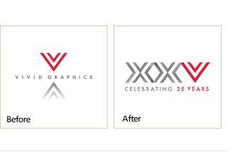 How to design a company anniversary logo   Vivid Greetings