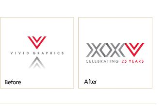 How to design a company anniversary logo | Vivid Greetings