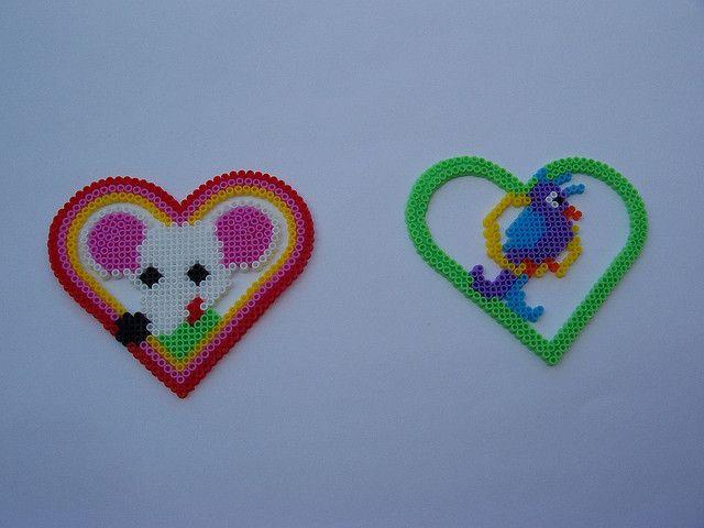 Hama Heart Designs