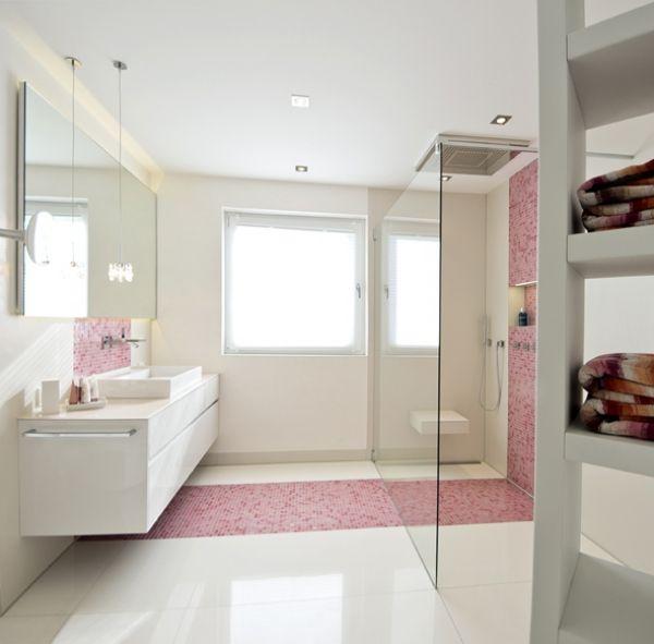 Badezimmer Rosa Fliesen Ihr Traumhaus Ideen - Rosa fliesen bad