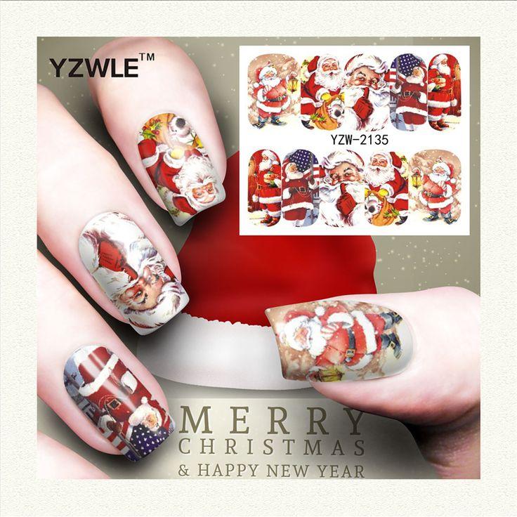$0.11 (Buy here: https://alitems.com/g/1e8d114494ebda23ff8b16525dc3e8/?i=5&ulp=https%3A%2F%2Fwww.aliexpress.com%2Fitem%2FYZWLE-1-Sheet-Christmas-Design-DIY-Decals-Nails-Art-Water-Transfer-Printing-Stickers-Accessories-For-Manicure%2F32739807393.html ) Yzwle 1 Sheet Christmas Design Diy Decals Nails Art Water Transfer Printing Stickers Accessories For Manicure Salon (yzw-2135)  for just $0.11