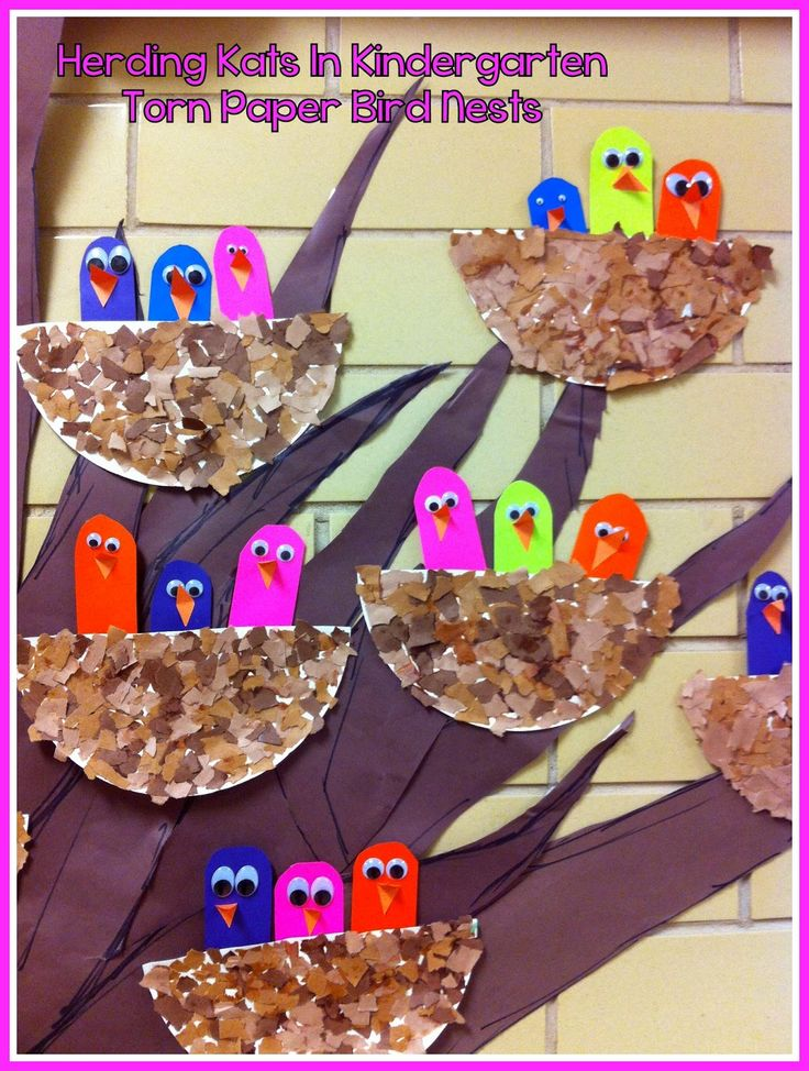 Herding Kats in Kindergarten: Spring Crafts Bulletin Board