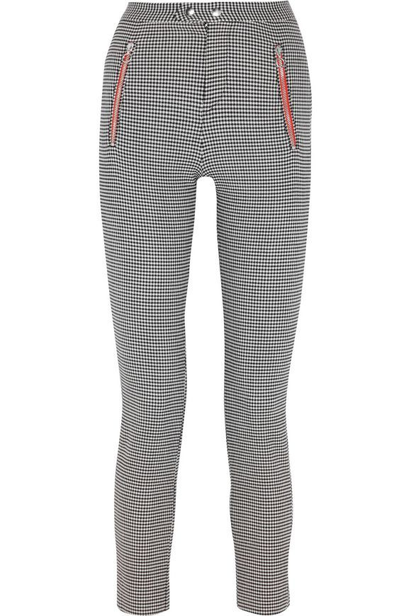 Checked wool-blend slim-leg pants | ISABEL MARANT | Sale up to 70% off | THE OUTNET