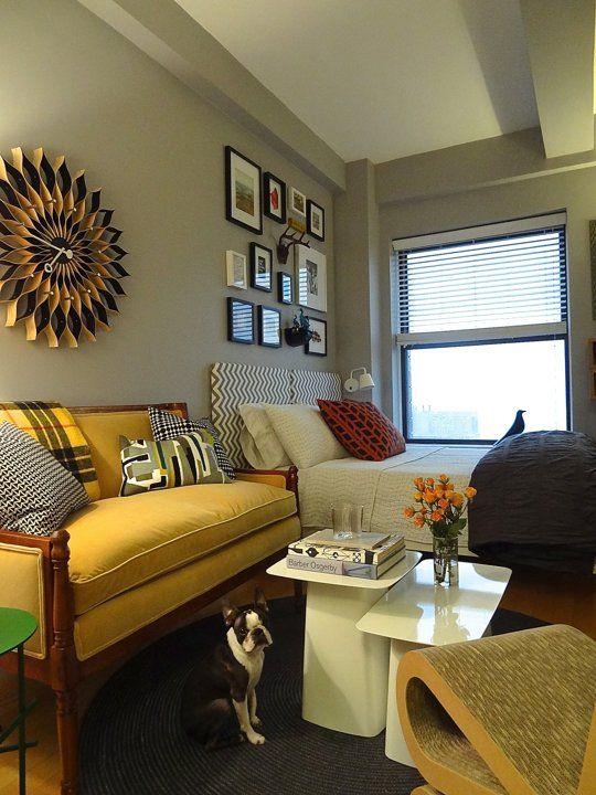 Small Studio Apartment, Big Design Impact   Apartment Therapy