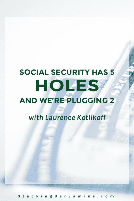 Economist and co-author of the Social Security bestseller Get What's Yours, Laurence Kotlikoff joins us to talk planning.