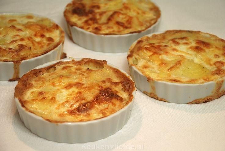 Mini aardappelgratin - feestelijk bijgerecht!
