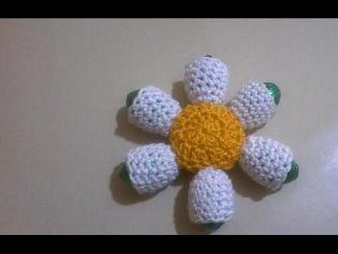 Amigurumi Flower Tutorial : Amigurumi flower etsy