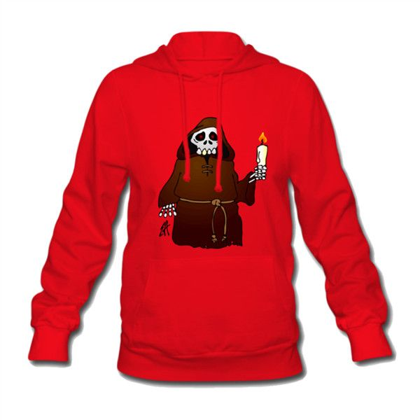 Skeleton Women's Hooded Sweatshirt Red Women's Hooded Sweatshirt |... ($41) ❤ liked on Polyvore featuring tops, hoodies, red hoodie, cotton hoodie, hooded sweatshirt, cotton hooded sweatshirt and hooded pullover