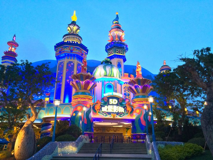 The world's largest 4D Theater @ Chimelong Ocean Kingdom // www.kraftwerk.at