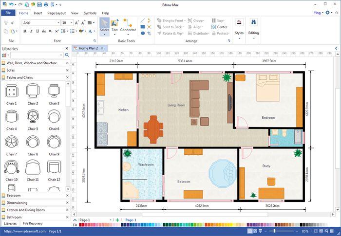 Free Download Floor Plan Maker Free Floor Plans Plan Maker Floor Plans House plan maker free