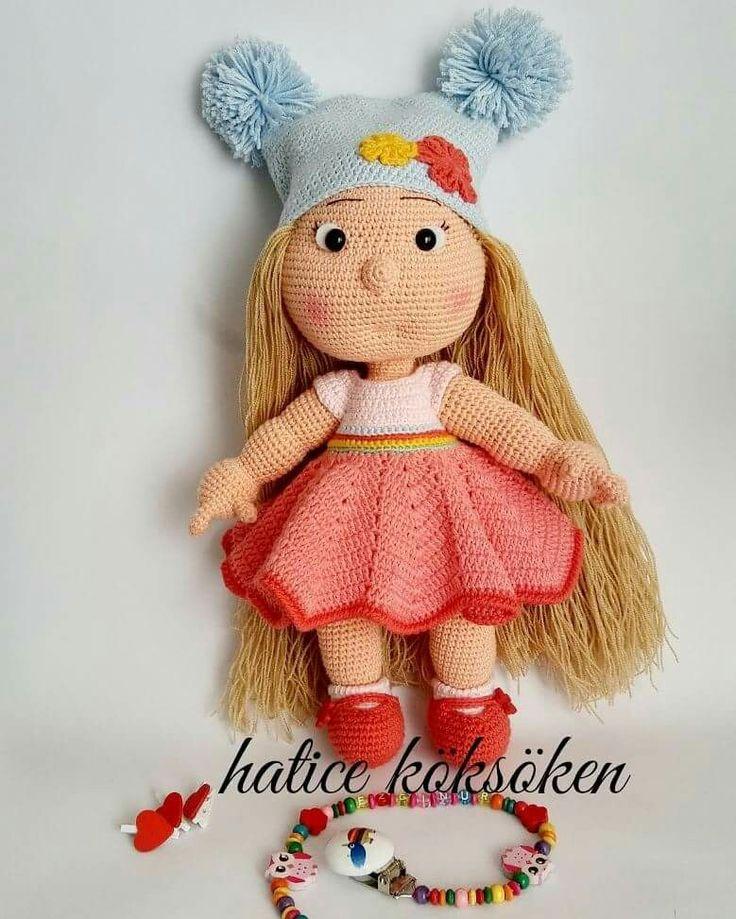 Amigurumi Girl Tutorial : 1011 best images about Amigurumi dolls on Pinterest Girl ...