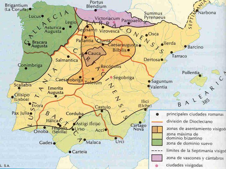 Crisis del siglo III en Hispania Romana