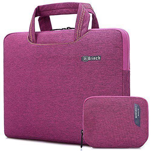 Laptop Bag Case 2 Pcs Macbook Pc Carrying Waterproof Modern Messenger Sleeve NEW #BRINCHTM