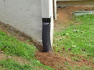 yard drainage solutions | Gibbs Lawn Design - Drainage Solutions
