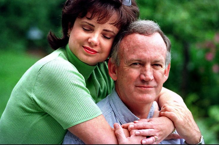 John and Patsy Ramsey pose for a photograph on Aug. 16, 1997.