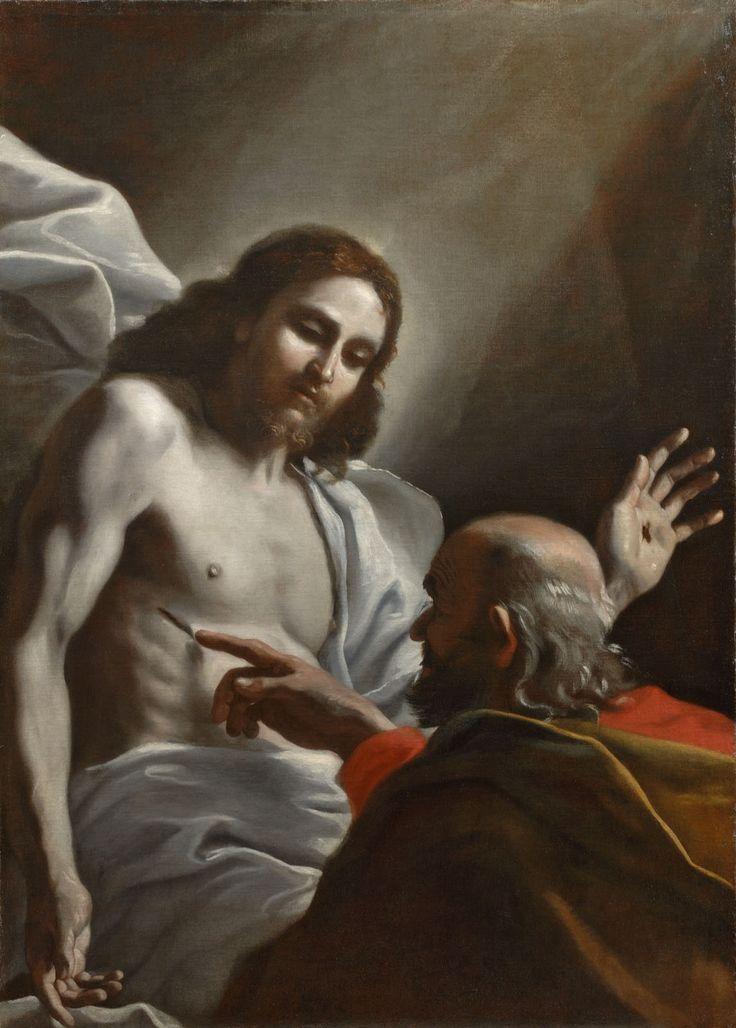 The Incredulity of Saint Thomas ; Artist: Mattia Preti ; Year: About 1640