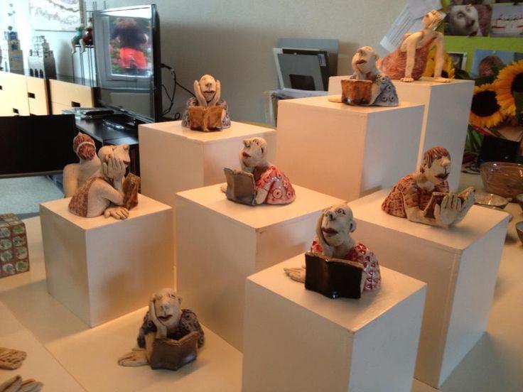 Lezertjes van Ansvink.nl - keramiek - à € 35,- stuk.