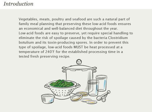 Pressure Canning   Preserving Food - Low Acid   Ball Jars