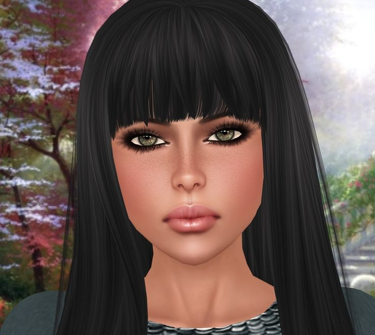 Soft Black Hair Color: Soft Black Hair Color New Mimikri Hudson Clothing Co My Style In Second Life