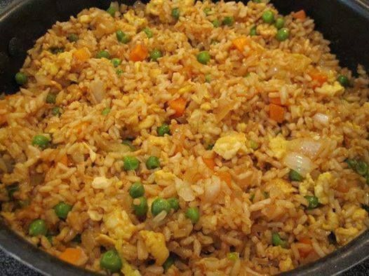 Delicious Chinese fried rice, perfect for any meal or occasion! This is the best fried rice recipe ever, it's so popular on the internet! A must try!