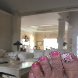 Black floral nail decals/ Floral nail stickers/ Nail art   Etsy