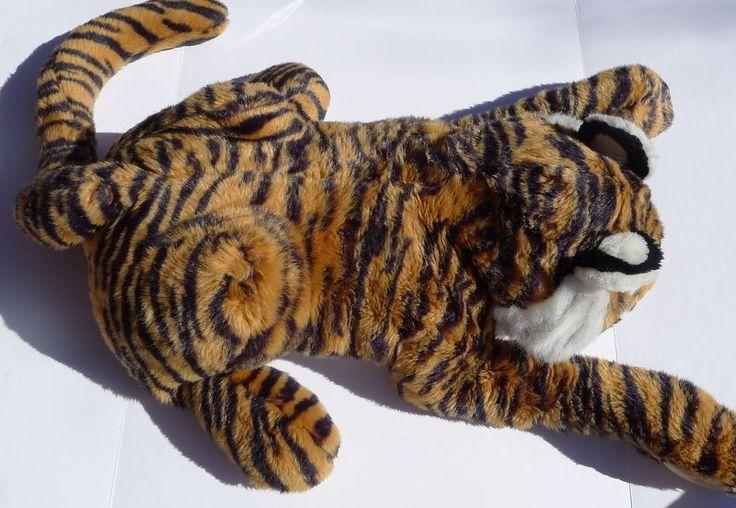 Folkmanis Large #TigerPuppet Furry Folks Puppets #Folkmanis #HANDPuppet  #BengalTiger