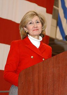 Kay Bailey Hutchison - Galveston, LaMarque TX-1st Woman Senator from TX