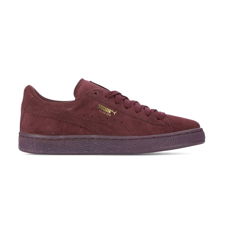 puma suede all bordeaux