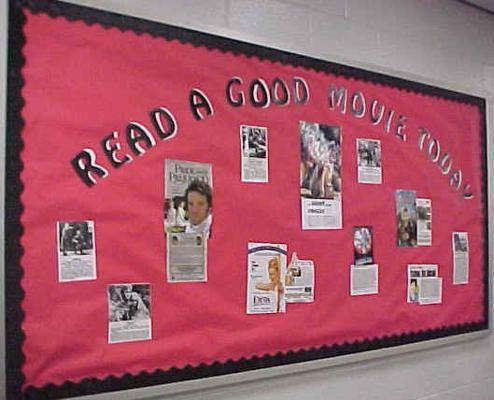 High School English Bulletin Boards