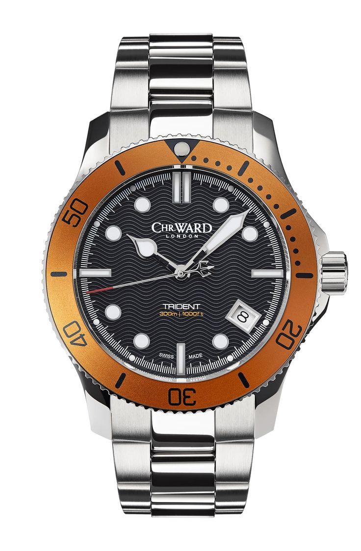 Best Women's Dive Watches – Chris Ward C60 Trident 300 Orange