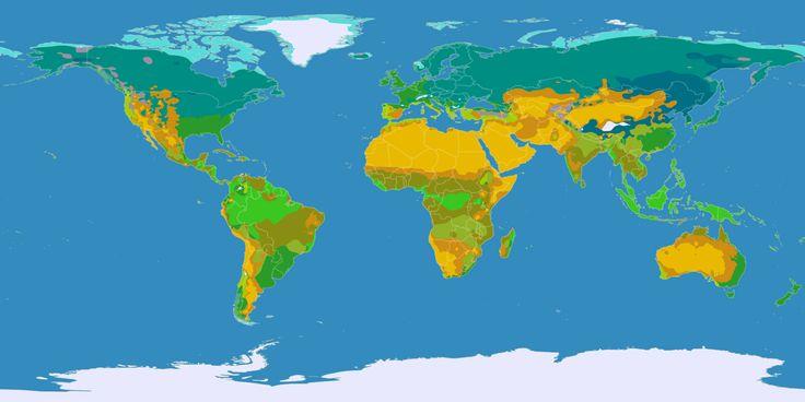 World Map Arctic Antarctic