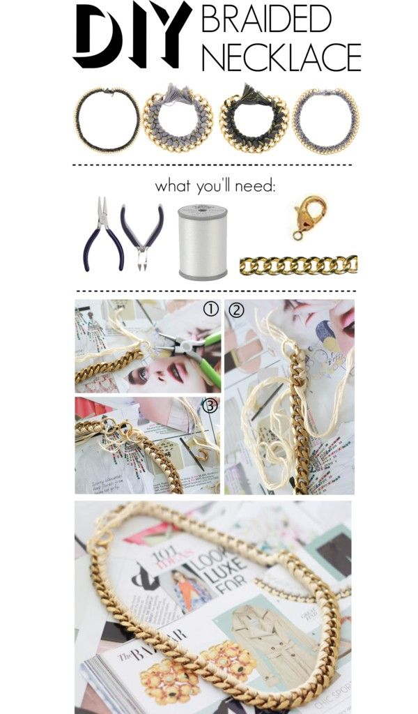 Do It Yourself Jewelry: 25+ Best Ideas About Braided Necklace On Pinterest