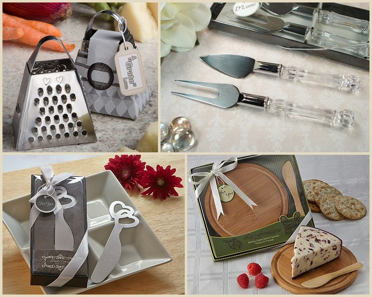 Cheese Wedding and Party Favors