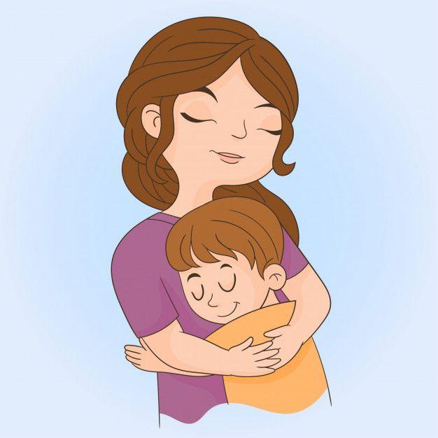 Рисунки объятия для детей